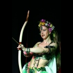 Weiße Göttin - Jungfrau Kriegerin